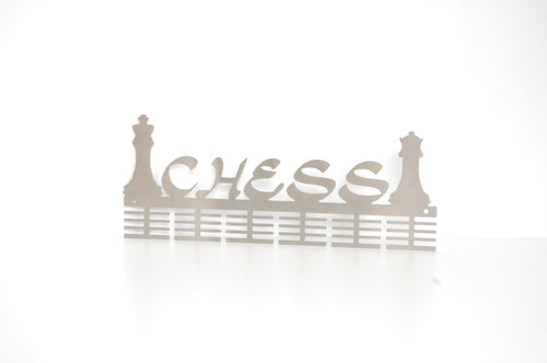 Chess 48 tier medal hanger (option of colors available)