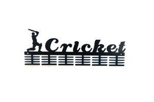 Cricket 48 tier medal hanger (option of colors available)