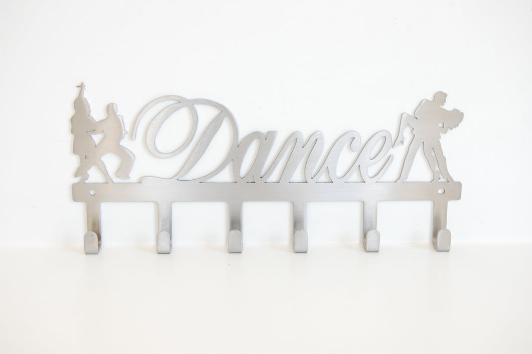 Dance couples 6 hook Key Hook (option of colors available)