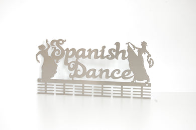 Spanish Dancing 48 tier medal hanger (option of colors available)