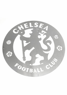 Chelsea FC Mounted Wall Art Design