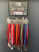 Load image into Gallery viewer, Cape Argus Cycle Tour, Club 21 plus.. 48 tier medal hanger Stainless steel brush finish