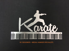 Load image into Gallery viewer, Karate 48 tier medal hanger (option of colors available)