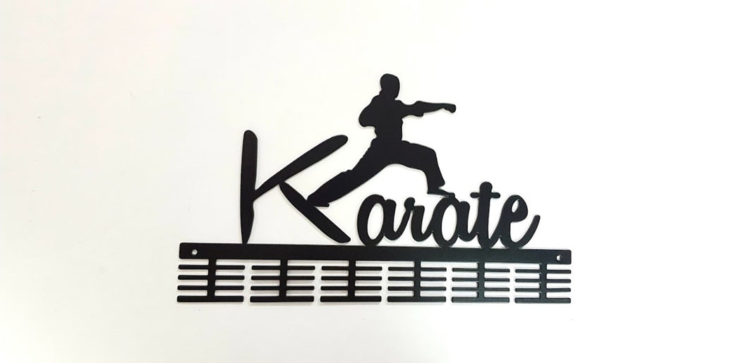 Karate 48 tier medal hanger (option of colors available)
