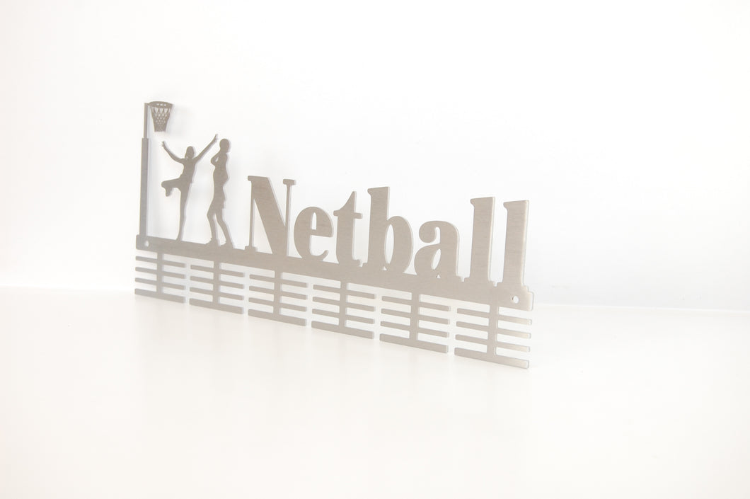 Netball 48 tier medal hanger (option of colors available)