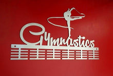 Load image into Gallery viewer, Gymnastics Ribbon 48 tier medal hanger (option of colors available)