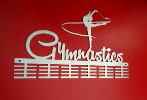 Gymnastics Ribbon 48 tier medal hanger (option of colors available)