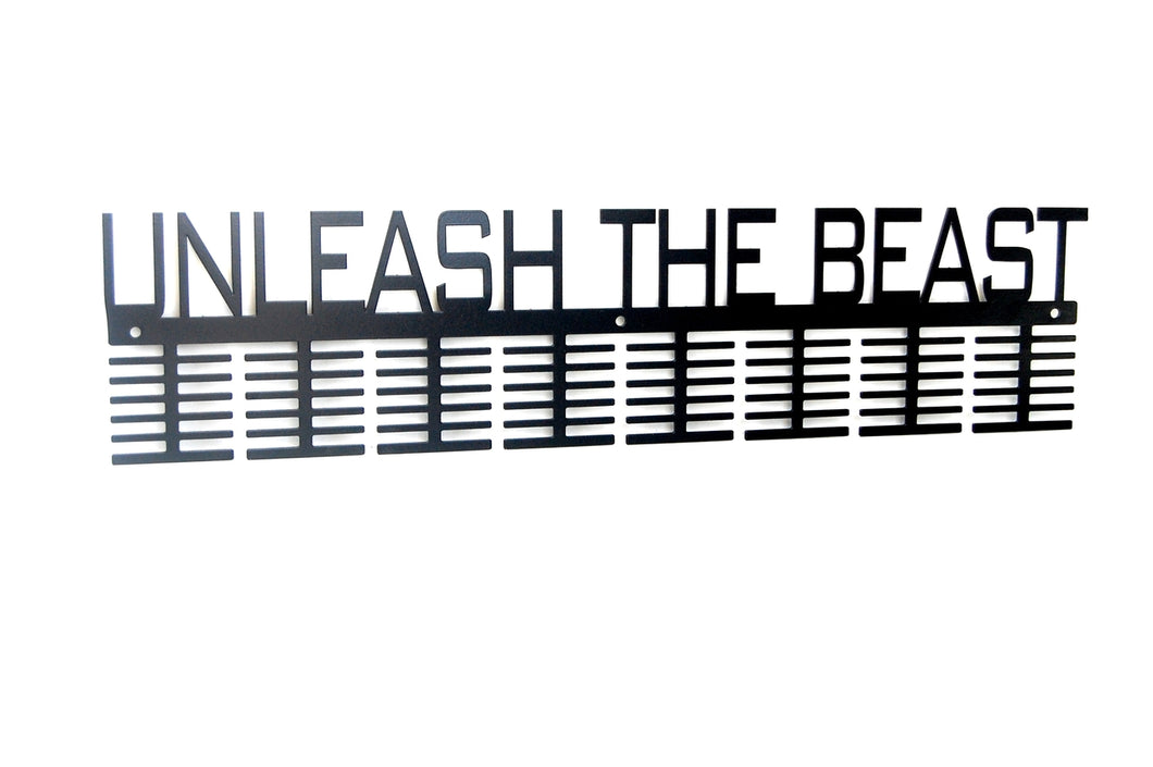 Unleash The Beast 96 tier medal hanger (option of colors available)