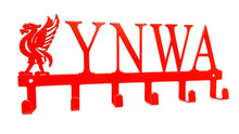 Load image into Gallery viewer, Liverpool YNWA Liverbird key hook (option of colors available)