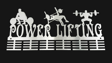 Man Power Lifting 48 tier medal hanger (option of colors available)