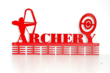 Load image into Gallery viewer, Archery 48 tier medal hanger (option of colors available)
