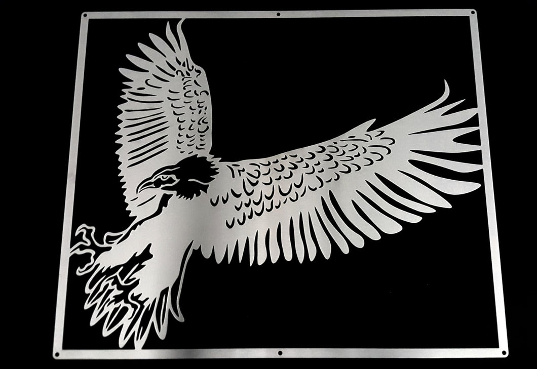 Eagle Mounted Wall Art