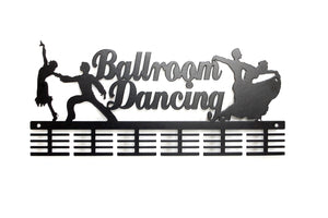 Ballroom Dancing 48 tier medal hanger (option of colors available)