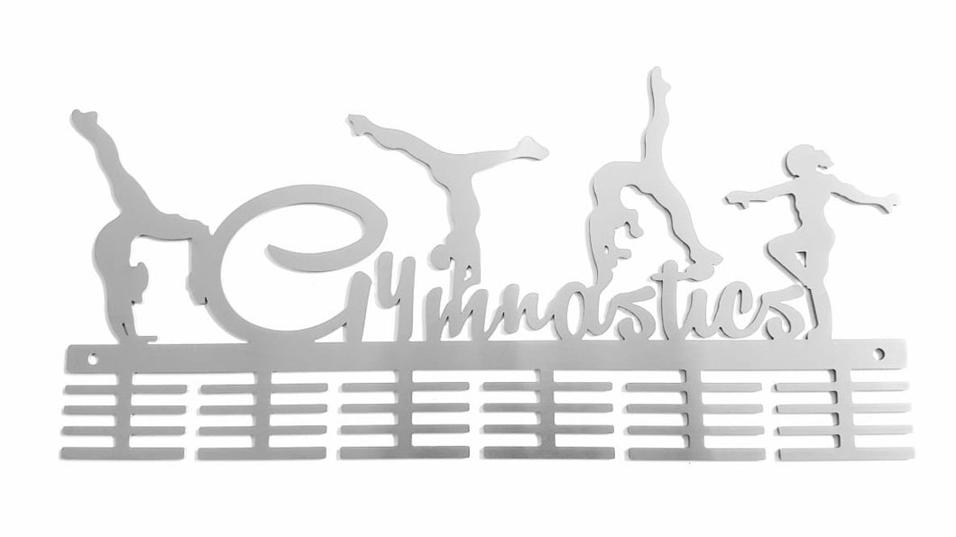 Gymnastics Figurines 48 tier medal hanger (option of colors available)
