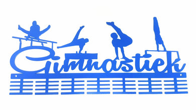 Gimnastiek Mens Artistic Gymnastics 56 tier medal hanger (option of colors available)
