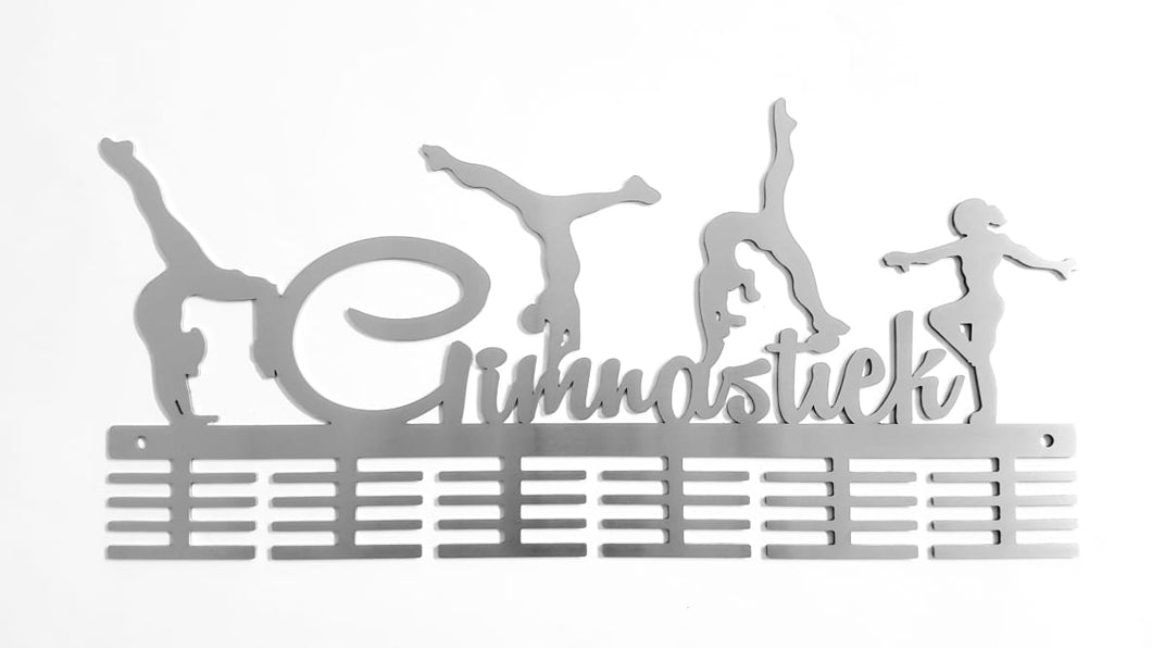 Gimnastiek Figurines 48 tier medal hanger (option of colors available)