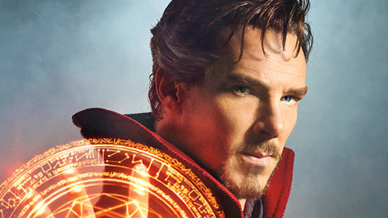 Here's a Glimpse of Benedict Cumberbatch as Doctor Strange