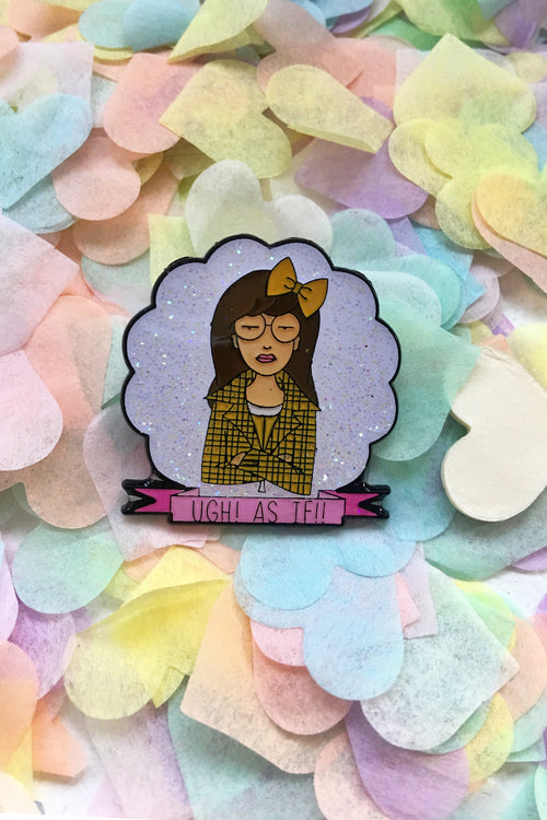 Dolly Tattoos x Geek la Chic Daria is Clueless Pin