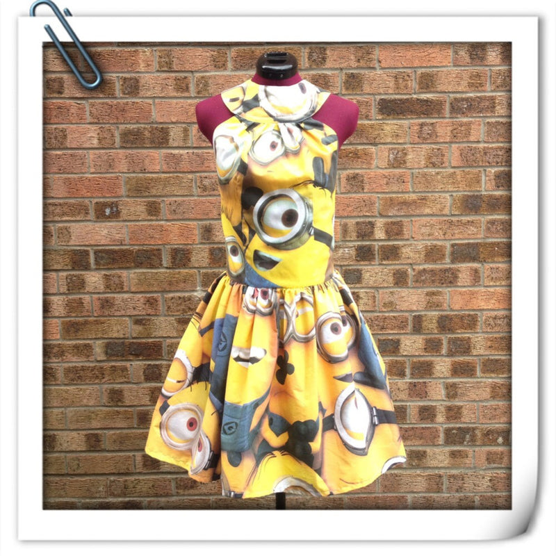 Minion Halter Dress