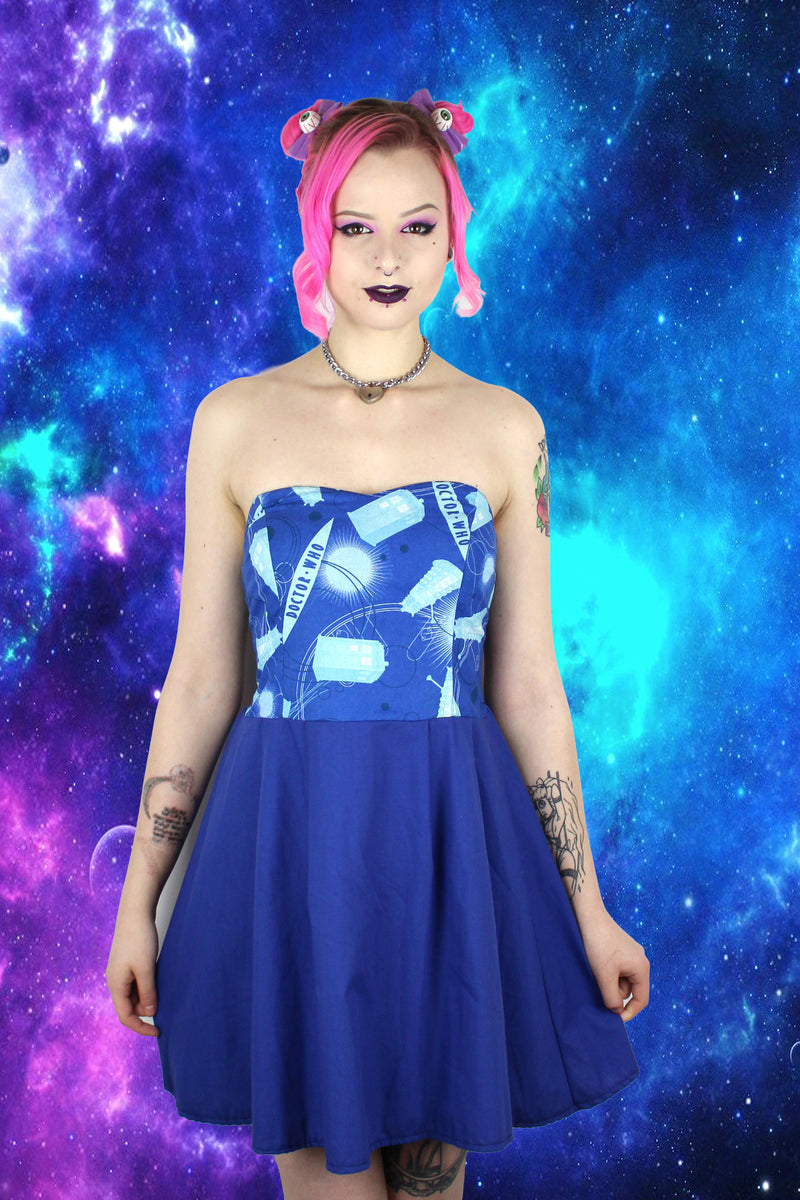 Doctor Who Two Tone Sweetheart Dress