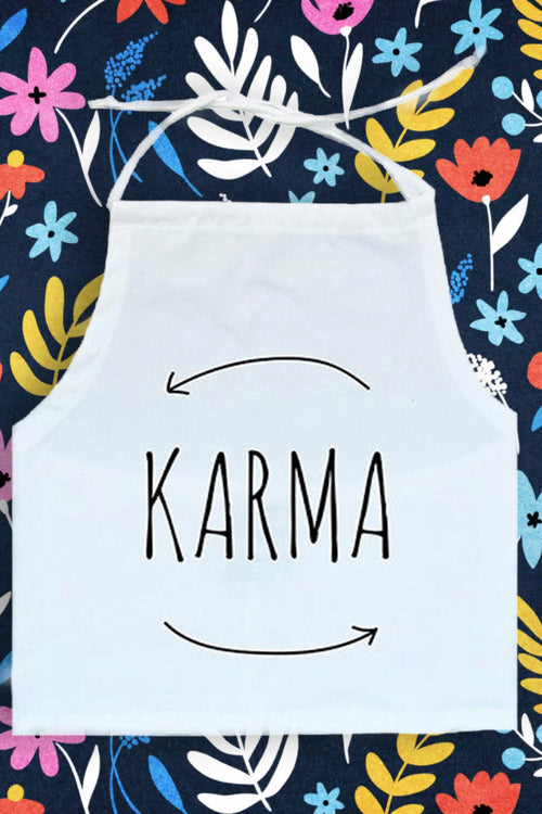 Karma White Halter Top