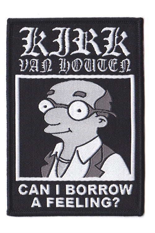 "Kirk Van Houten ""Can I Borrow A Feeling"" Patch"