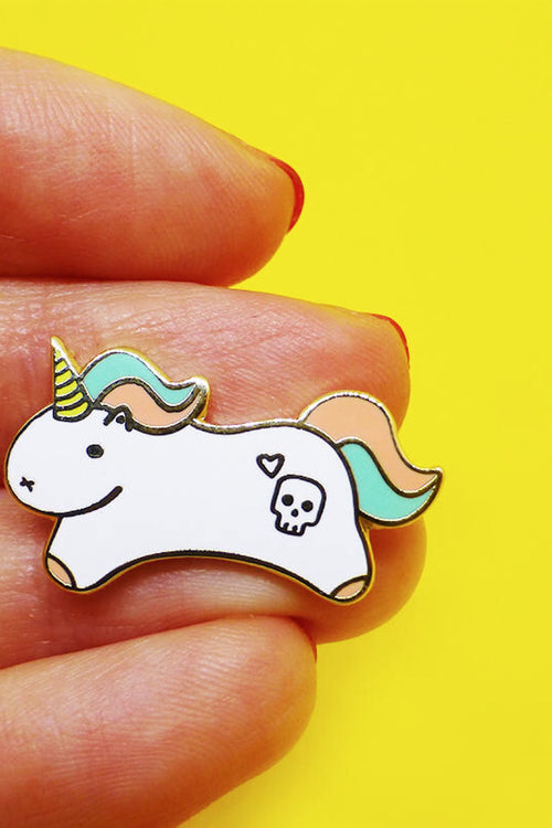 Motivational Unicorn Pin