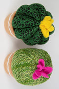 Round Cactus Fabric Decoration