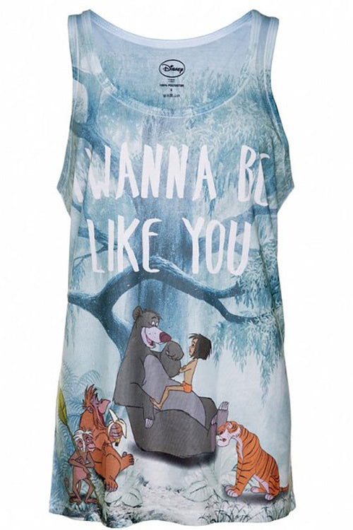 Disney The Jungle Book I wanna Be Like You Sublimation Vest