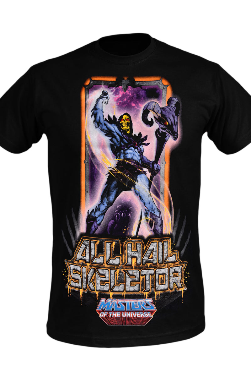 Masters of the Universe All Hail Skeletor Tee