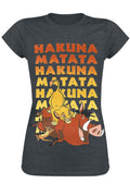 Disney The Lion King Hakuna Mutata Skinny Fit Tee
