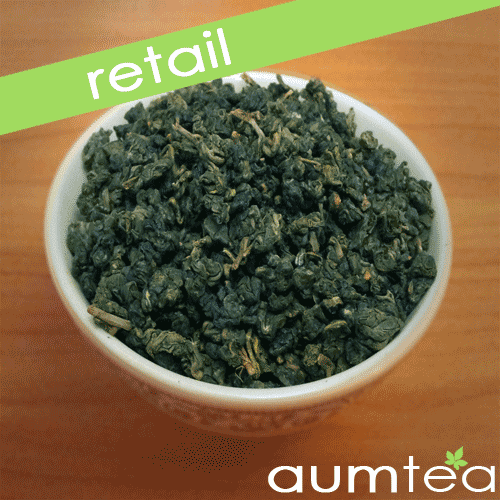 Oolong Top Leaf High Mountain Tea Bulk Rolled Leaf Thailand