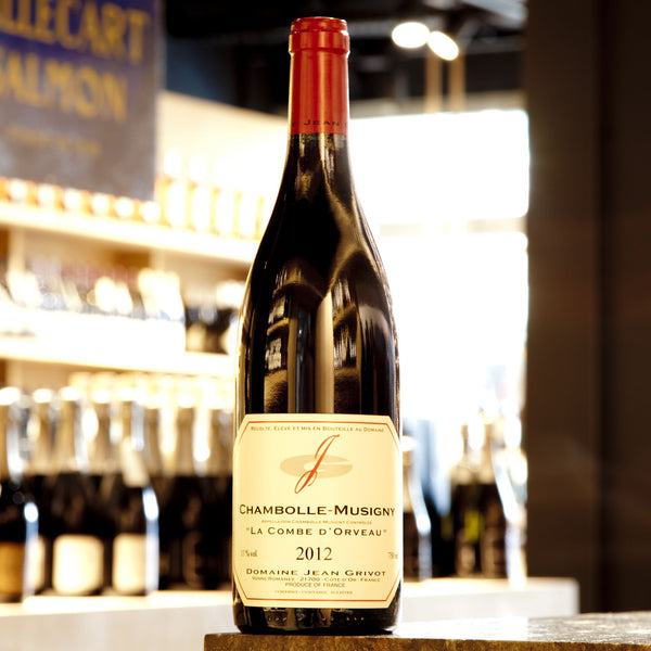 Domaine Jean Grivot, Chambolle Musigny La Combe d'Orveau 2012