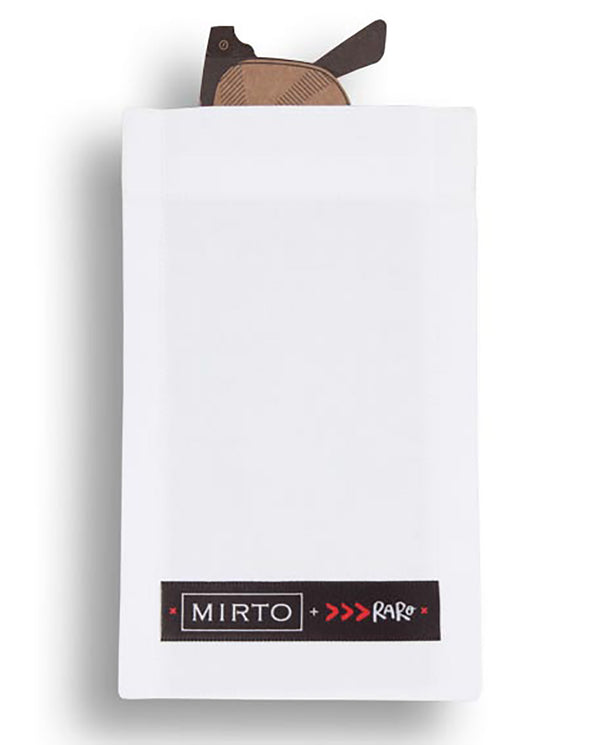 Glass Pocket Square by MIRTO