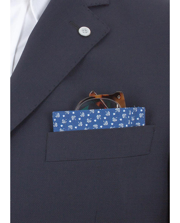 "Glass Pocket Square ""Good Luck Baby"" by MIRTO"