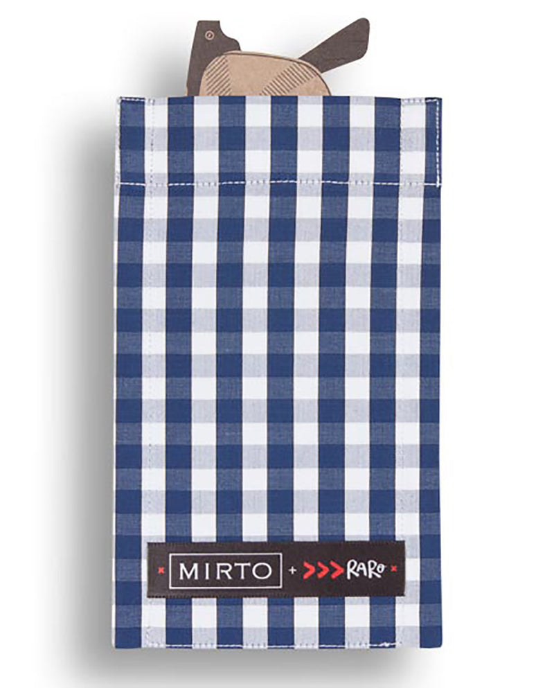 "Glass Pocket Square ""Picnic is Picnic"" by MIRTO"