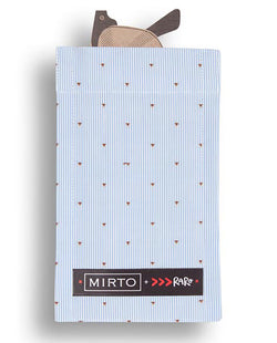 "Glass Pocket Square ""Soft Print"" by MIRTO"