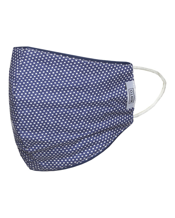 MASCARILLA REVERSIBLE AZUL by MIRTO