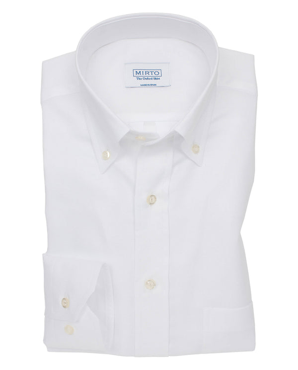 CAMISA SPORT CIUDAD OXFORD BLANCO by MIRTO