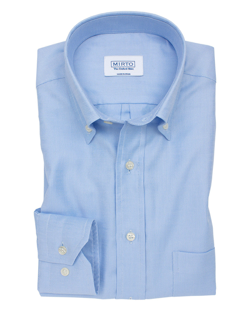 CAMISA SPORT CIUDAD OXFORD AZUL by MIRTO