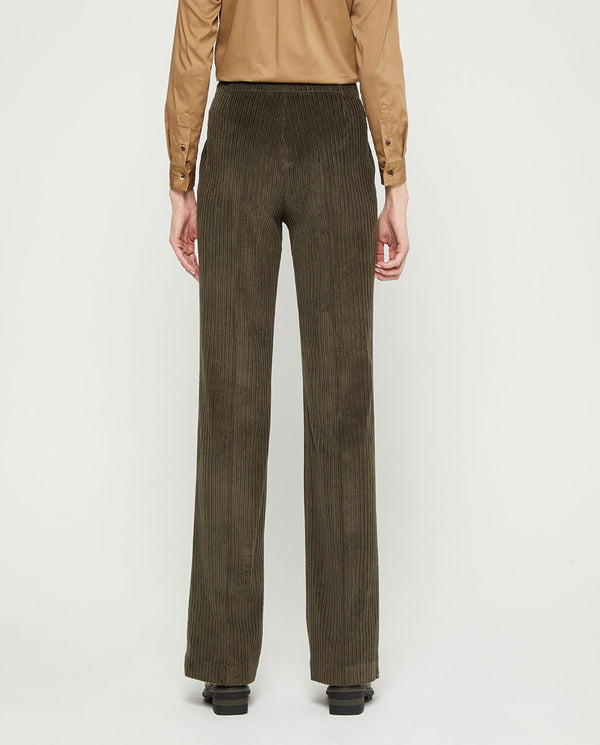 PANTALON RECTO DE PANA by MIRTO