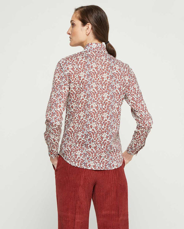 CAMISA ESTAMPADO FLORES by MIRTO