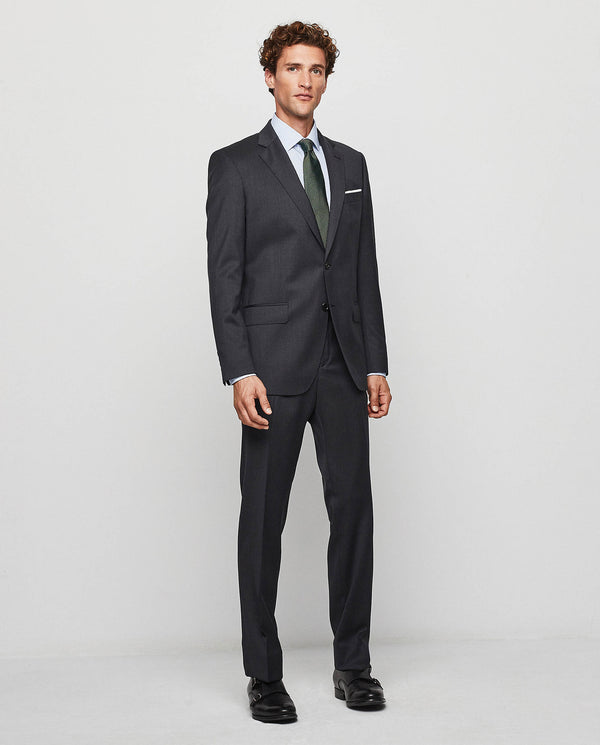 "TRAJE ""TRAVEL SUIT"" LANA SUPER 100's MARENGO"
