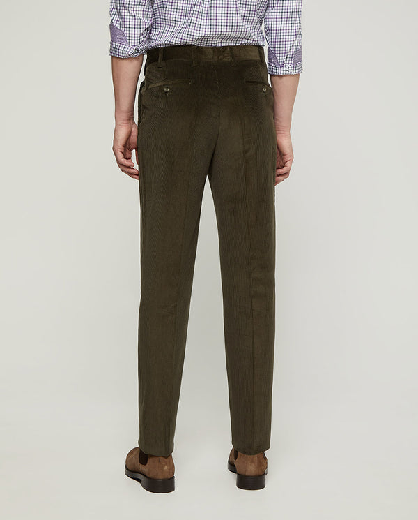PANTALON CASUAL DE PANA FINA by MIRTO