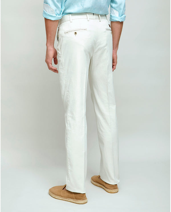 PANTALON CASUAL ESTRUCTURA CRUDO by MIRTO