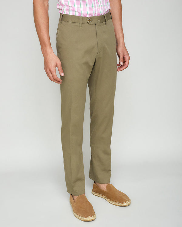 PANTALON CASUAL ESTRUCTURA TOSTADO by MIRTO