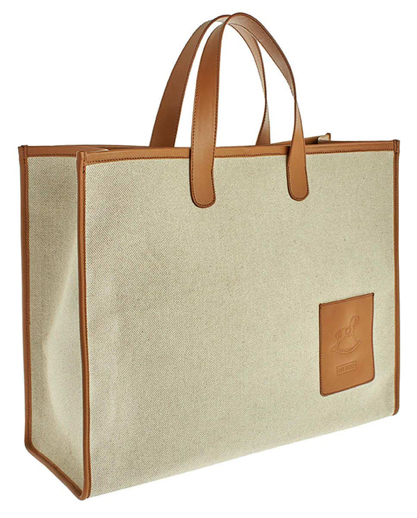 BOLSO SHOPPER CANVAS GRANDE -EXCLUSIVO ONLINE-