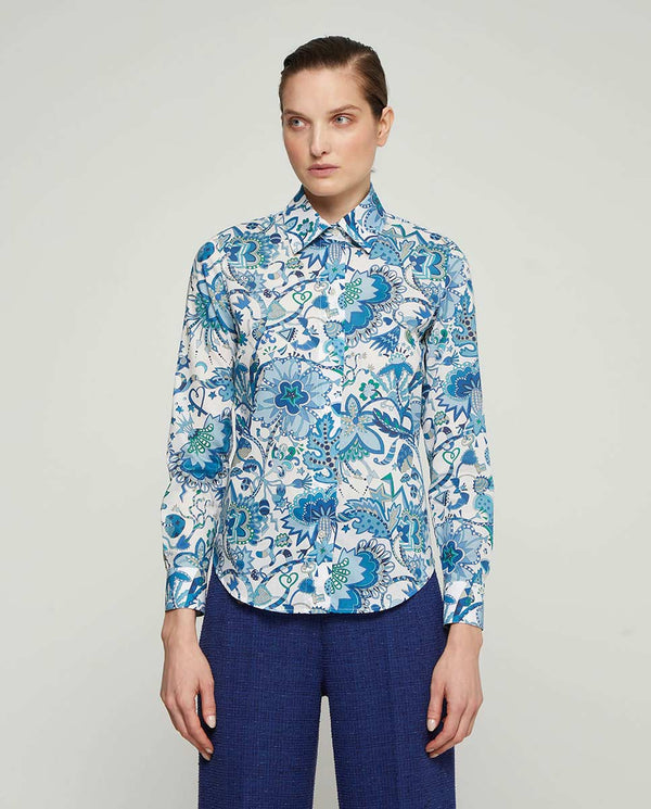 CAMISA ESTAMPADO FLORAL by MIRTO