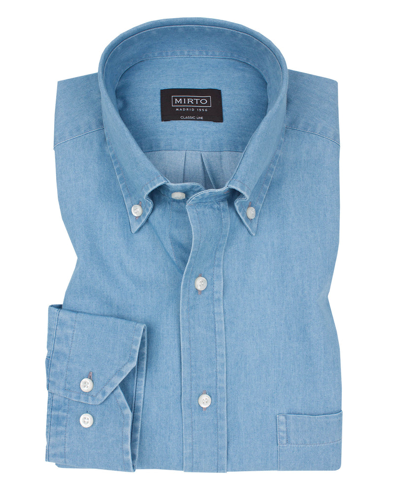 CAMISA SPORT CIUDAD DENIM by MIRTO