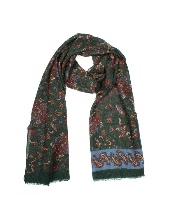 FOULARD ESTAMPADO DE LANA by MIRTO